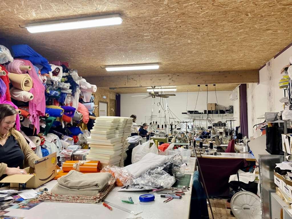 Atelier confection culotte écologique et confortable